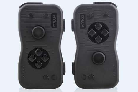 Ergonomic Gaming Console Controllers - The Nyko Dualies are Comfortable for Extended Gaming Sessions