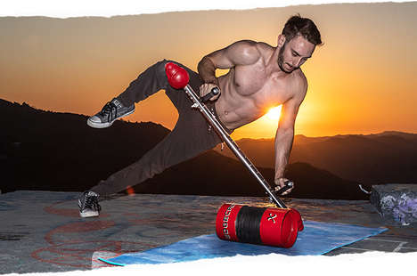 Off-Balance Total Body Trainers - The 'EdgeCross-X' Makes Your Muscles Work Harder in Less Time