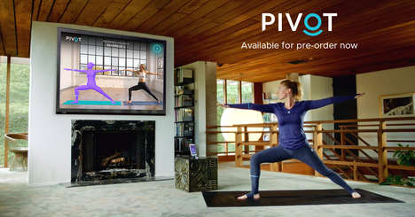 Smart At-Home Yoga Systems - PIVOT Yoga Uses Smart Clothing & Online Classes to Give Feedback