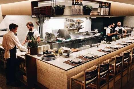 Modern Elevated Italian Restaurants