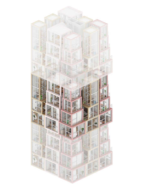 Multi-Storey High-Rise Home Concepts