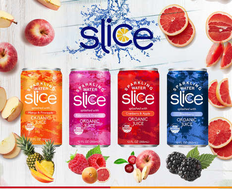 Juice-Infused Sparkling Waters