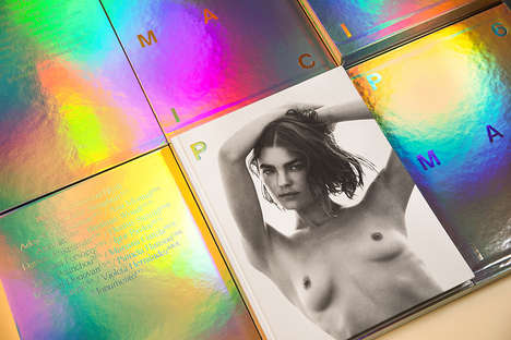Provocatively Iridescent Magazine Issues - P Magazine's NSFW Edition Spotlights Bambi Northwood