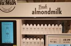 In-Store Almond Milk Machines