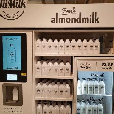 In-Store Almond Milk Machines