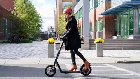 Shareable AI E-Scooters