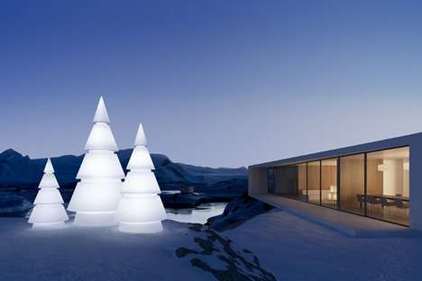 Geometrically Chic Holiday Lights