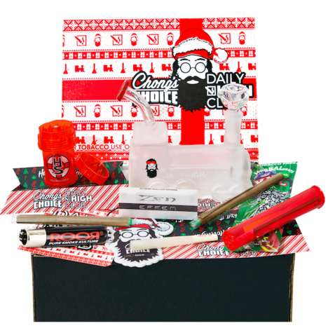 Iconic Stoner Holiday Boxes