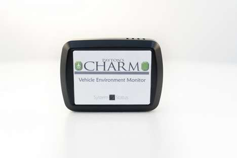 CO2-Tracking Auto Safety Devices - 'Payton's Charm' Ensures You Never Leave Kids or Pets in the Car