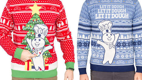 Doughy Holiday Sweater Lines