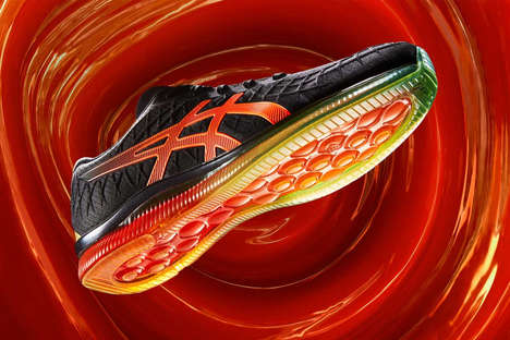 Fully Cushioned Running Sneakers