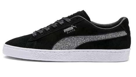 Glittering Crystal Sneakers