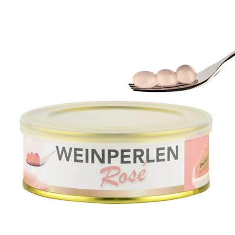 Cuisine-Complementing Rosé Wine Pearls