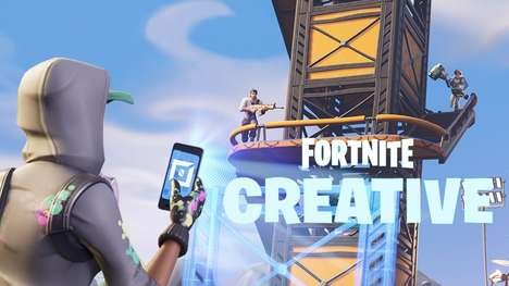 Custom Map-Designing Features - 'Fortnite' Creative Mode Lets Players Design Custom Maps and Games