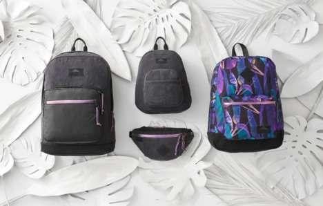 Tropical Streetwear-Inspired Backpacks
