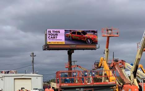 Chocolate Fan-Searching Billboards - Reese's Pieces is on the Hunt for the Ultimate Reese's Fan