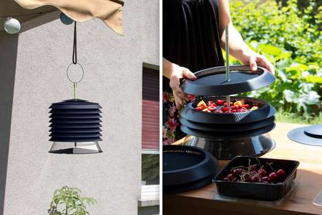 Sun-Powered Food Dehydrators - The Aliz Dehydrator Preserves Food in a More Natural Way