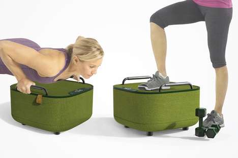 Multifunctional Fitness Furniture