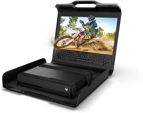 Protective Portable Console Stations - The GAEMS Sentinel Lets You Game Anywhere