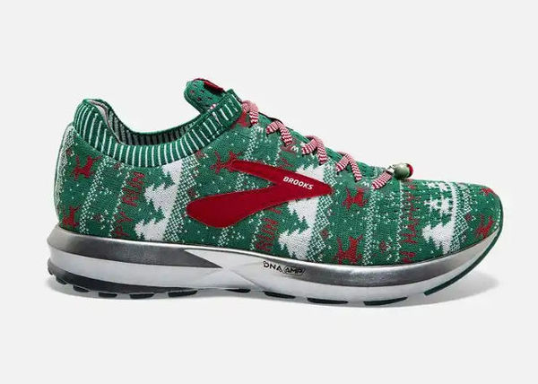 Ugly Sweater-Inspired Sneakers : Brooks