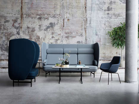 Curvy Hybrid Furniture Collections - Jaime Hayon's Curvy Sofas are Ideal for Both Homes and Offices