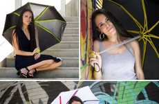 Stylish Storm-Proof Umbrellas