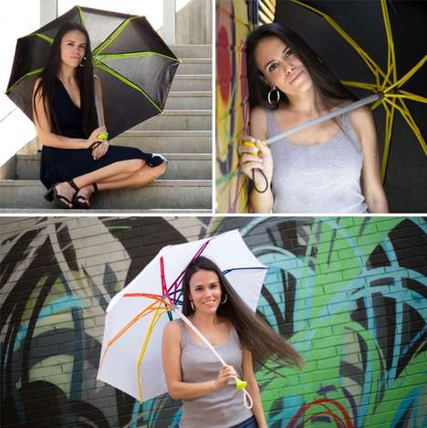 Stylish Storm-Proof Umbrellas