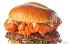 Hearty Dual Meat Burgers - Buffalo Wild Wings is Debuting a Pair of Extra-Meaty Stacked Burgers