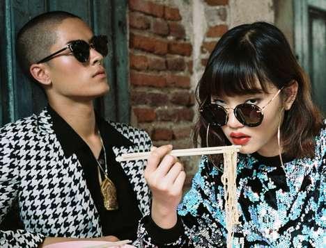 Handmade Marble Sunglasses