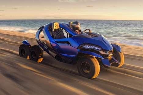 Six-Wheeled ATV Concepts