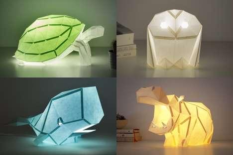 DIY Animalistic Lighting Solutions