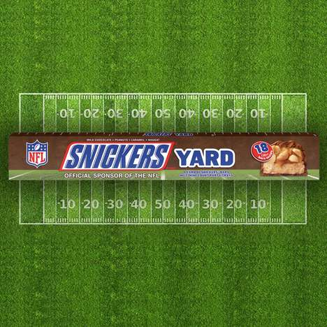 Yard-Long Candy Bars - Snickers and Other Candy Bars are Being Sold by the Yard at Target