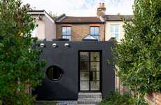 Contemporary Coated Building Extensions
