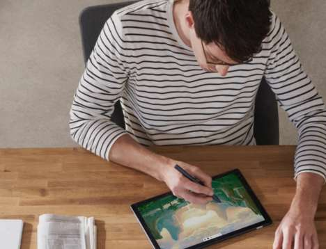 Assistant-Connected Tablet Pens