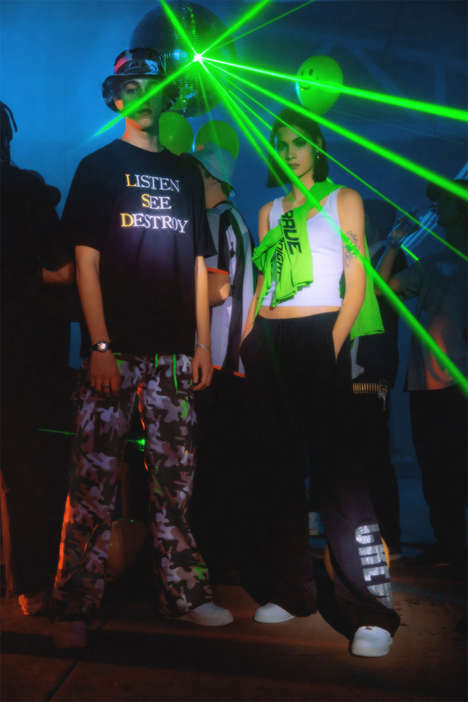 Nostalgic Rave Culture Apparel