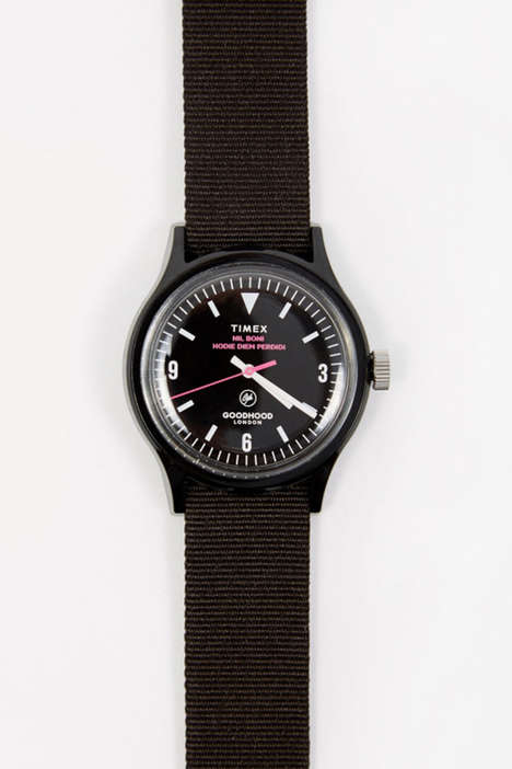 Podcast-Inspired Wristwatches