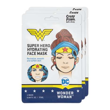 Superheroine Sheet Masks