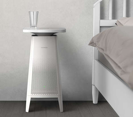 Side Table Air Purifiers - The Conceptual 'COZY' Air Purifier Blends Seamlessly into Any Space