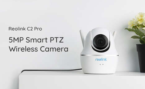 Super HD Security Cameras - The Reolink C2 Pro 5MP PTZ Promises a Plug-and-Play Setup