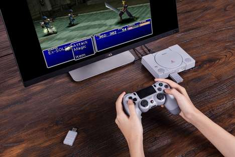 Retro Console Adapters - The PlayStation Adapter Allows Players to Use Modern Controllers