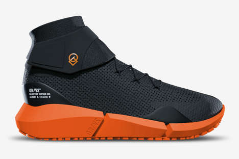 High-Tech Climate-Adaptable Shoes - The OBVS ADPT Sneakerboots Adjust to Any Conditions