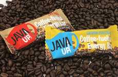 Coffee-Infused Energy Supplement Bars - The JavaUp Energy Bars are Made with 100% Organic Espresso