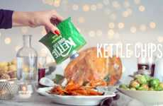Festive Chip-Themed Seasonings - These Holiday Seasoning Shakers Make Meals Taste Like Kettle Chips