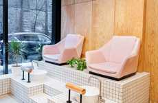 Contemporary Canadian Nail Salons - Montreal's Le Hideout is Modern and Industrial