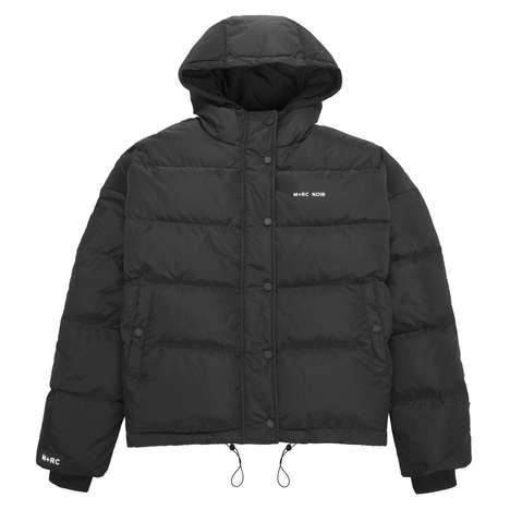 Insulated Waterproof Outerwear - The First Drop for M+RC Noir Fall/Winter 2018 Highlights Function