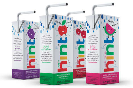 Free-From Flavored Waters - Hint's Flavored Water for Kids Has Zero Sugar, Juice or Sweeteners