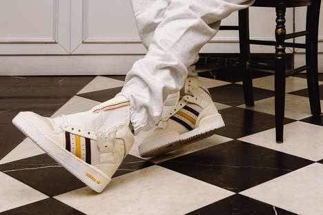 High-Cut Movement-Centric Shoes - Eric Emanuel & adidas Originals Join to Unveil Two Footwear Models