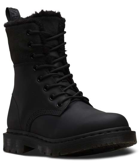 Slip-Resistant Fleece-Lined Boots