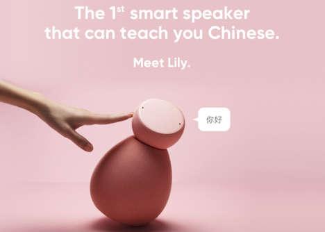 Language-Teaching Smart Speakers