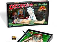 Offbeat Cartoon Board Games